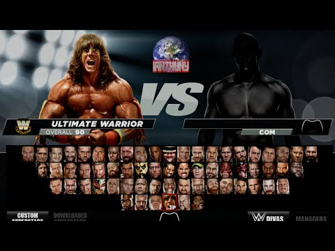 Complete WWE 2K15 Roster Review 1080p [HD]