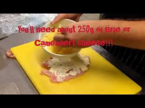 How to make chicken roulade