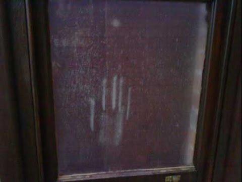 Handprint on the Window