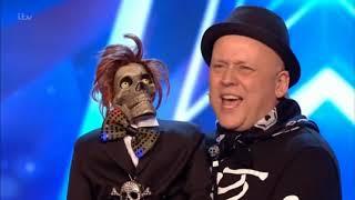 Greg & Mr. Bones sing together (ventriloquist) ★ BRITAINS GOT TALENT 2019 ★ Auditions Week 2