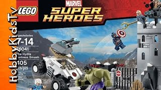 Can CAPTAIN AMERICA Save the Day in this Lego Hydra Fortress?