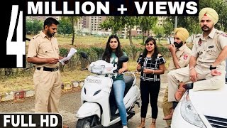 Police Naka - Official Video | Happy Jeet Pencher Wala | Latest Punjabi Comedy 2019