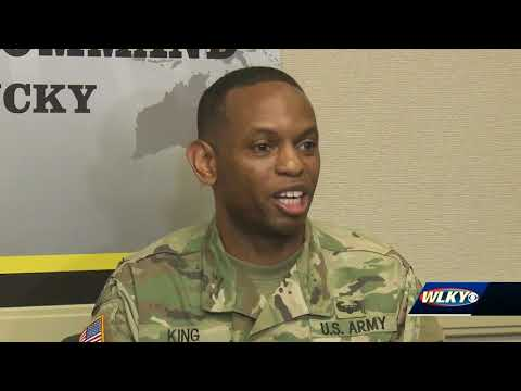 Fort Knox soldier rescues driver
