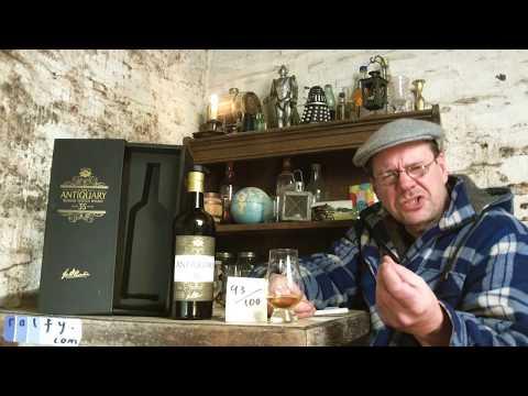 ralfy review 701 - Antiquary 35yo Blended Scotch @ 46% vol:
