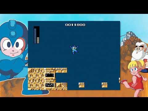 Mega Man - Acquiring the Magnet Beam (Elec Man Stage)