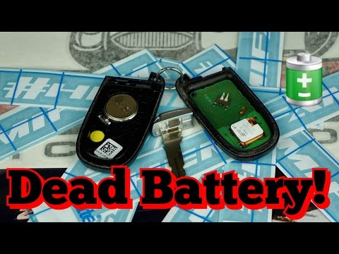 DIY Battery Change Dodge Charger Scat Pack Key Fob Disassembly & Battery Replacement! ✔️