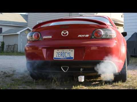 Mazda RX-8 Coolant Jacket Seal Failure - Cold Start