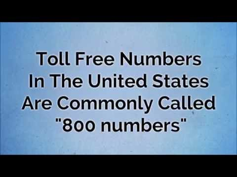 Is Area Code 877 Toll Free