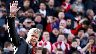 Arsène Wenger steps down