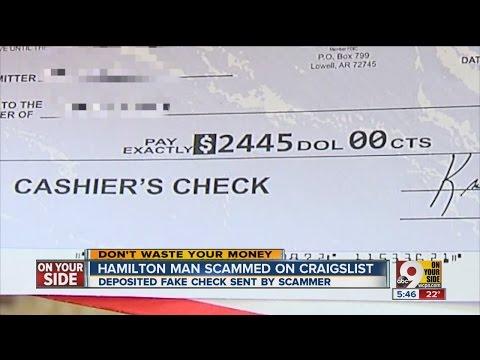 Hamilton man scammed on Craigslist