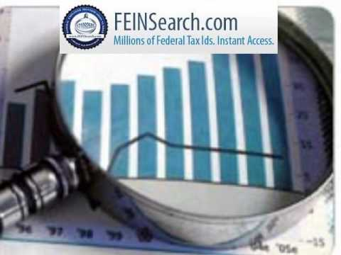 FeinSearch.com - Search DIN,Federal Tax ID, Search Tax ID,Federal Tax ID,EIN Lookup