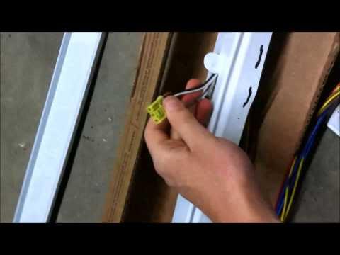 Installing Lithonia Fluorescent Lights (T8, T5, T5HO)