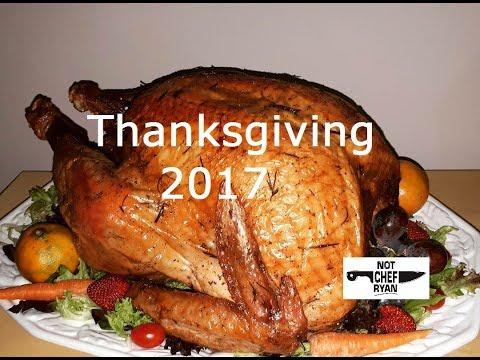 Not Chef Ryan Thanksgiving 2017