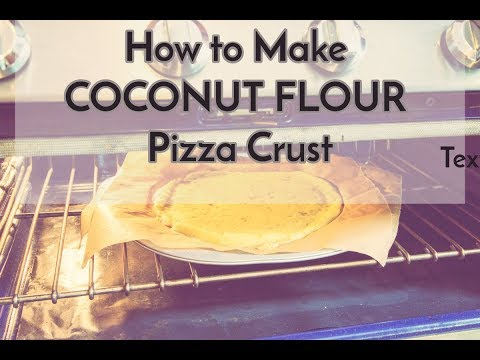 How to Make Paleo Gluten Free Pizza Crust|DYI Coconut Flour Pizza Crust