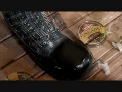 How to shine boots with kiwi polish