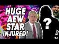 HUGE AEW Star INJURED WWE NXT amp AEW Dynamite Reviews WrestleTalk
