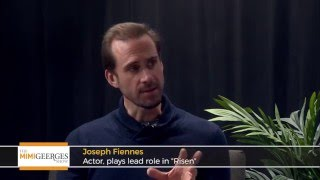 "Actor Joseph Fiennes on the Movie ""Risen"", His Siblings and Acting Career"