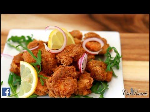Fry Garlic Prawns (Jamaican Cooking) | Recipes By Chef Ricardo