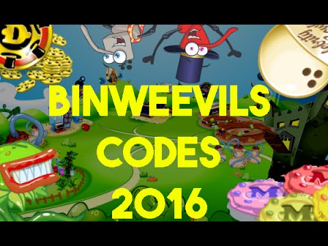 BINWEEVILS: ALL WORKING CODES 2016 - 16 DOSH, 5050 MULCH, 1050 XP, 3 NEST ITEMS AND SEEDS