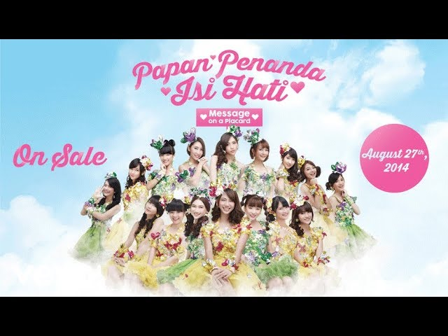 JKT48 - Message on Placard