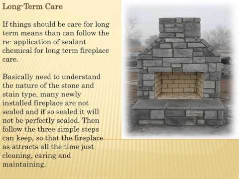 How to Care and Protect Natural Stone Fireplace – Stone Top Inc