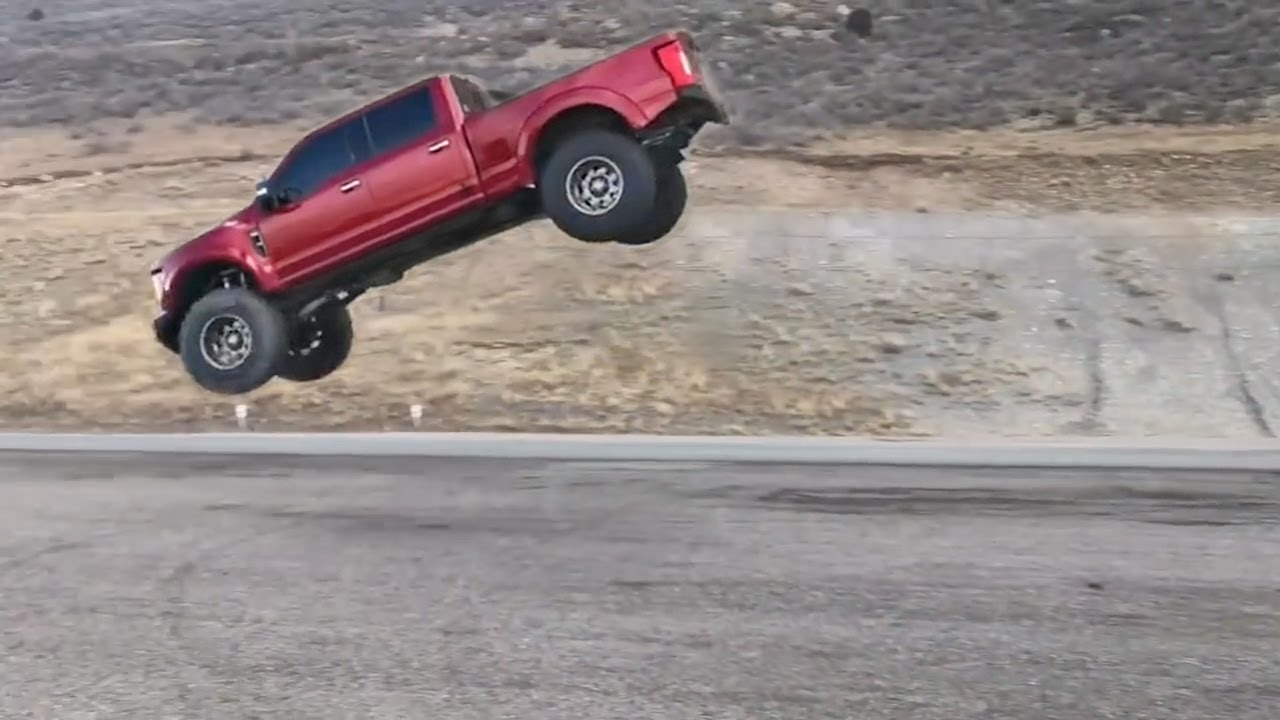 Flying Trucks | Truck Jumps Gone Wrong