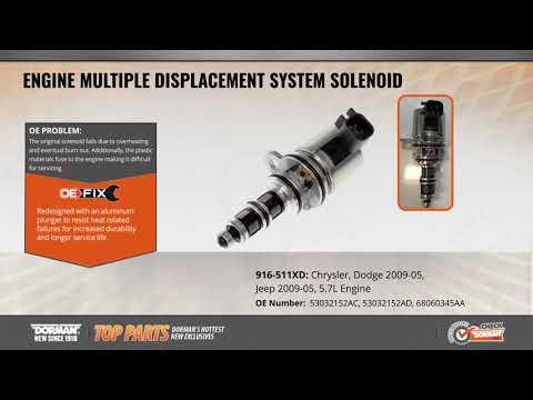 Engine Multiple Displacement System Solenoid