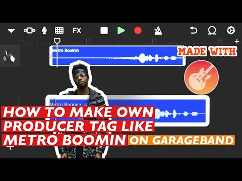 How To Make Own Producer Tag Like Metro Boomin on GarageBand IPHONE/IPAD