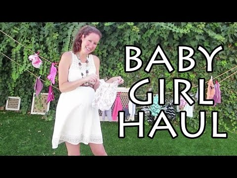 newborn baby girl's first outfits 0-3 months + a surprise dress :)