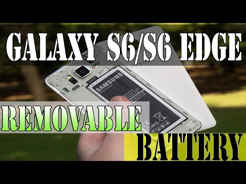 Removable Battery: SAMSUNG GALAXY S6/S6 EDGE - Today