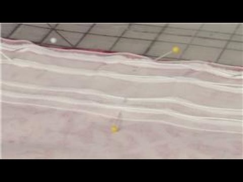 Sewing Tips : How to Use Pinch Pleat Tape