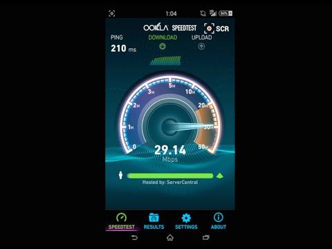 20+ Mbps Straight Talk * 4G LTE Speeds * Fast Data - Speed Test
