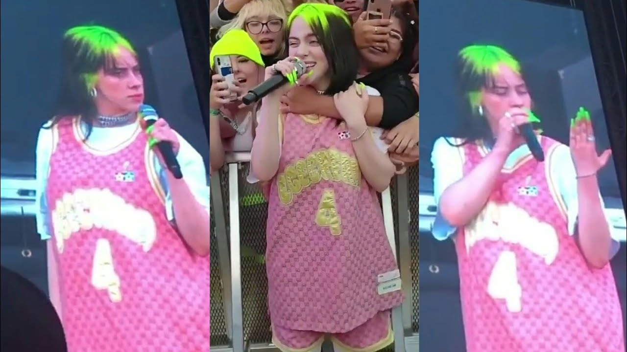 Billie Eilish's ring got stolen and someone almost choked her (click bait)