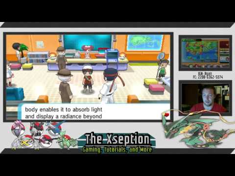 How to get Diancite to Mega Evolve Diancie in Omega Ruby and Alpha Sapphire (ORAS)