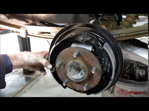 Drum Brake Service Chevy Astro and Chevy Pickups