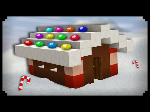 ✔ Minecraft: How to make a Gingerbread House