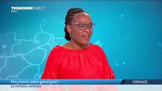 Binetou Sylla rend hommage à Mory Kanté