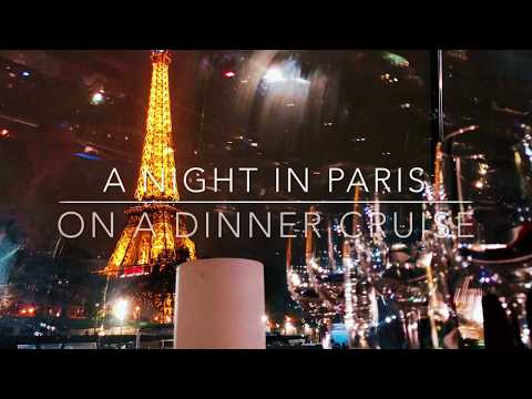 When you travel/visit Paris you must do the dinner cruise! Here is a mini Review!