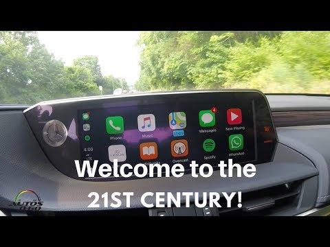 2019 Lexus ES, first Lexus with AppleCarPlay ... That´s amazing!