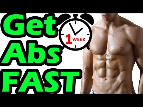 How to Get Abs in 1 Week at Home FAST | You Won't Like Hearing THIS
