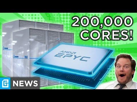200,000 7nm Epyc Cores, Windows Going SUBSCRIPTION?!