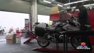 Building a Police Motorcycle