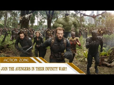 Join the Avengers in their Infinity War!! Making of Avengers: Infinity War
