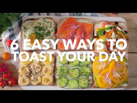 6 easy ways to toast your day [BA Recipes]