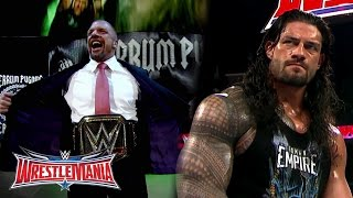 The Road to WrestleMania: WWE World Heavyweight Champion Triple H vs. Roman Reigns