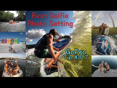 Best Selfie Photo Setting - GoPro Tip #417