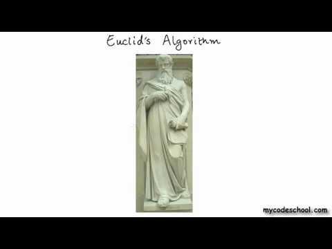 GCD using Euclid's algorithm