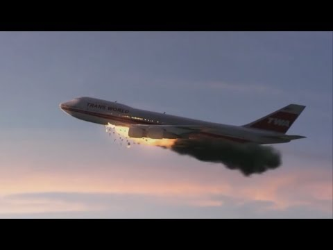 Boeing 747 Explosion Over New York - Trans World Airlines Flight 800 - P3D