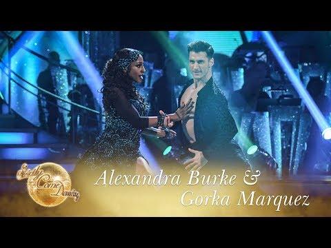 Alexandra Burke & Gorka Marquez Paso Doble to 'Ven a Bailar' - Strictly Come Dancing 2017