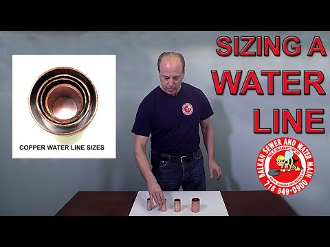 Calculating The Correct Water Supply Line Size
